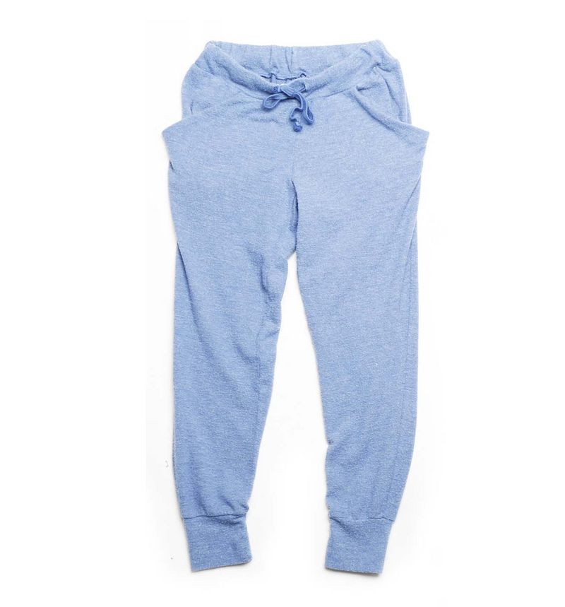 DENIM BRUSH HACCI SLOUCHING PANTS