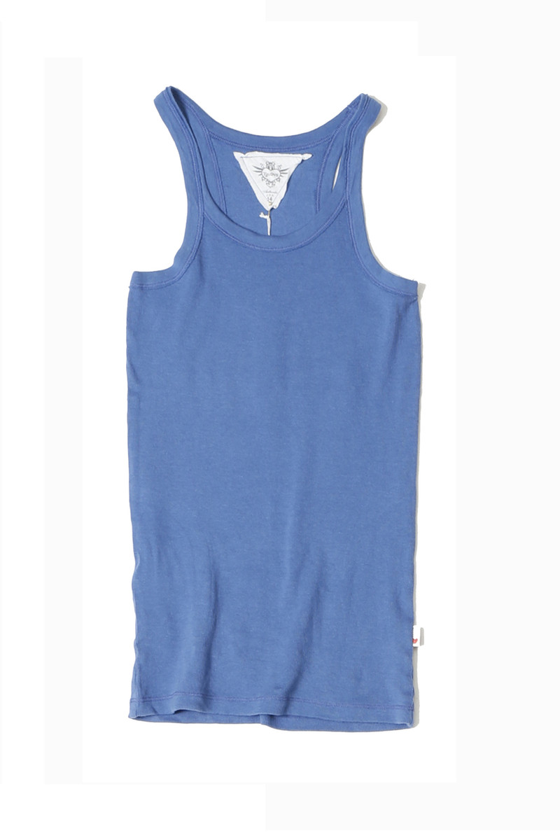 RIVER BLUE TANK TOP