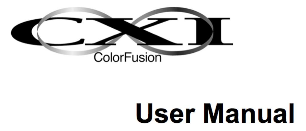 CXI user's manual.