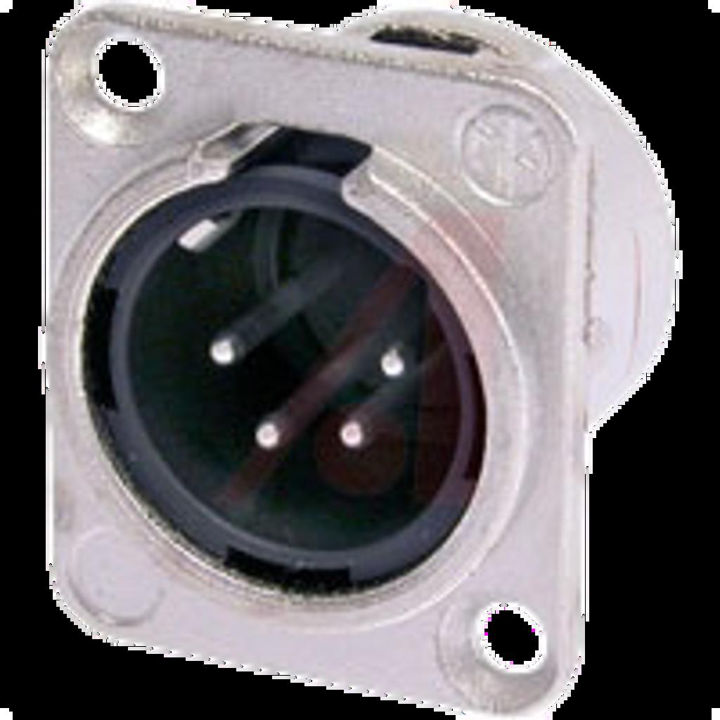 4 Pin Male XLR connector