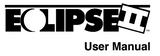 Eclipse II (Iris) user's manual.