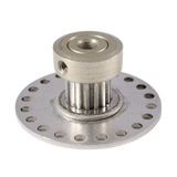 16 Tooth pulley with encoder Wheel.