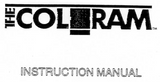 User Manual for the original Coloram and Power Supply