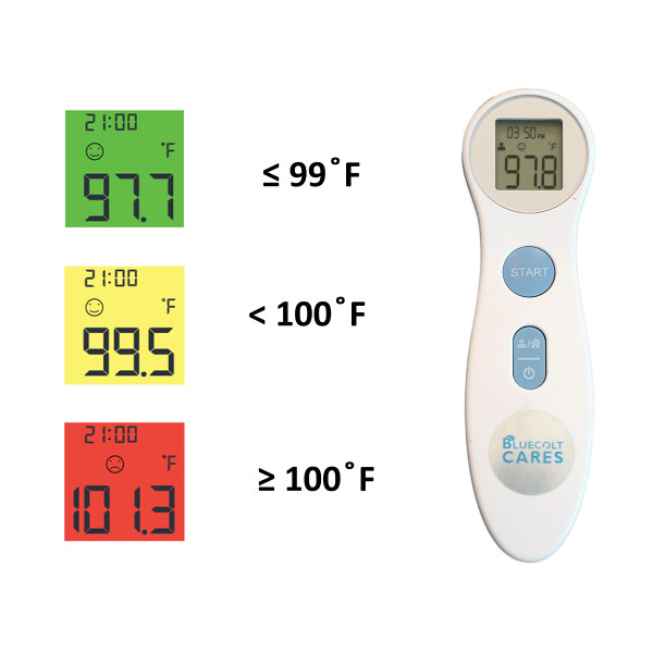 Touchless Infrared Thermometer with Case