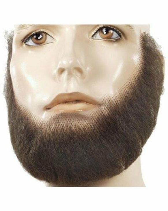 Lacey Full Fake Facial Hair Beard Human-Hair Blend