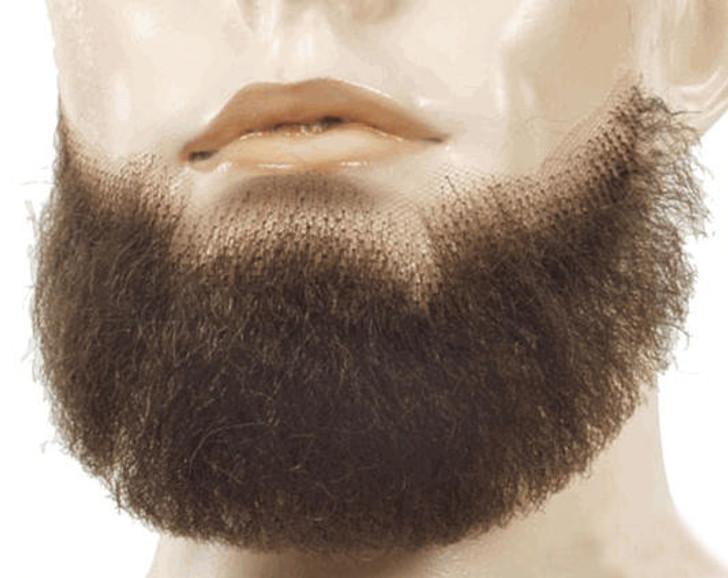Lacey Blue Beard Fake Facial Hair