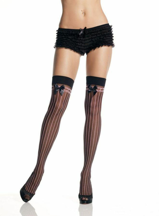 Leg Avenue Leg Avenue thigh-Highs with Vertical Stripes