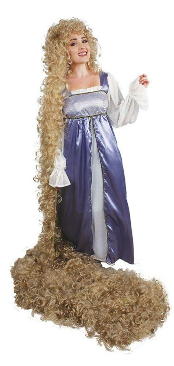 Lacey Rapunzel Theatrical Costume Wig