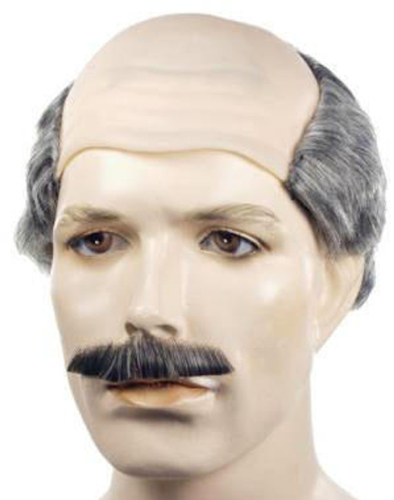 Lacey Dr Phil Wig and Mustache Set