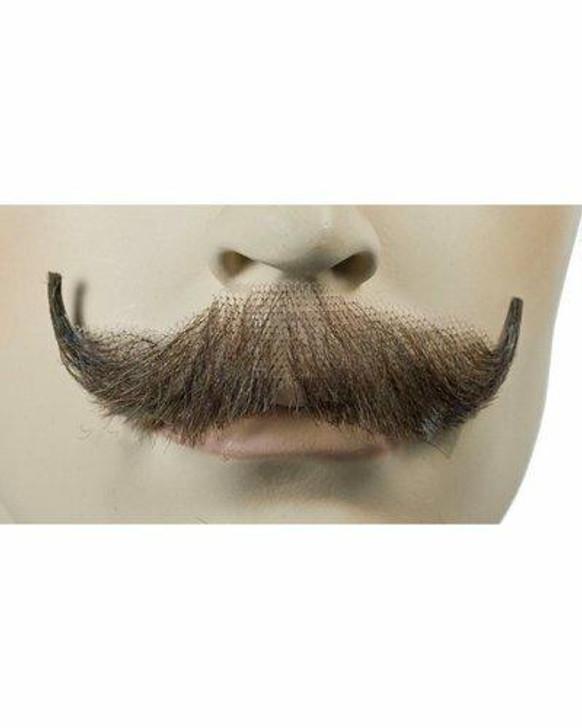 Lacey English Human Hair Fake Mustache