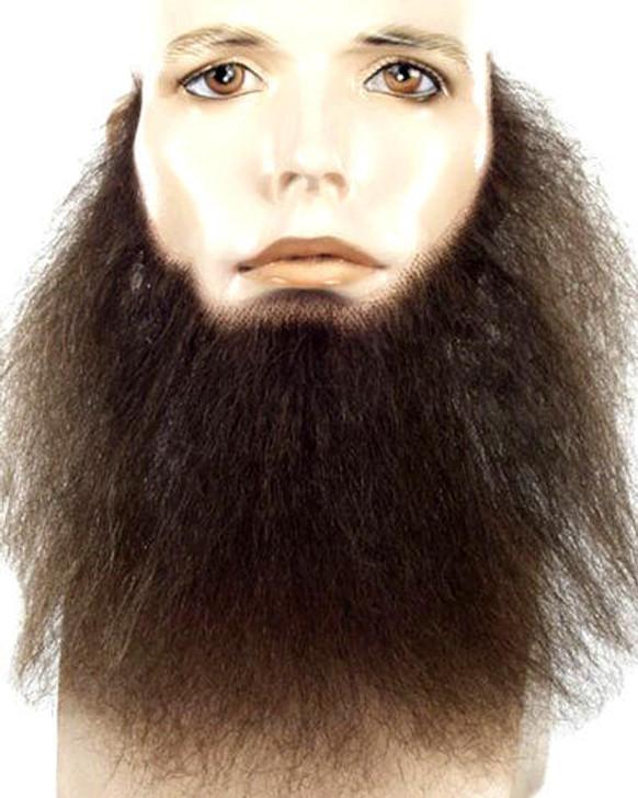 Lacey Human Hair 8 Inch Full and Wavy Beard