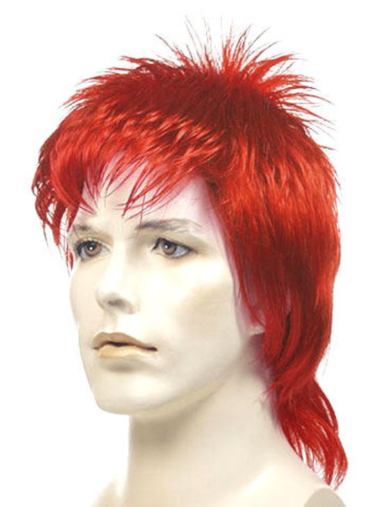 Lacey David Bowie as Ziggy Stardust Mullet Wig
