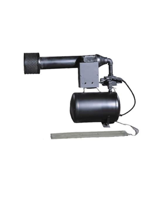 Machine gun blaster halloween animated prop