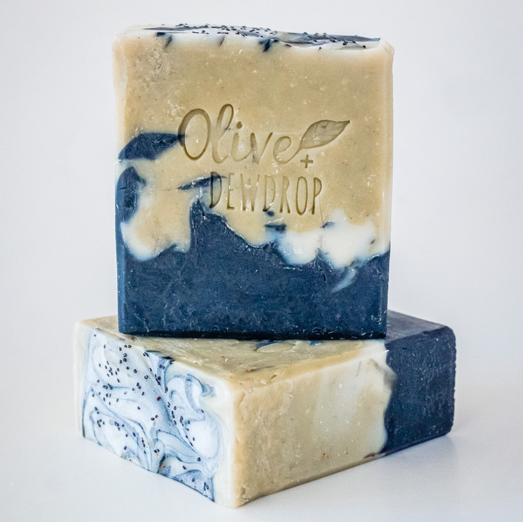 UPLIFT - Mint and Patchouli Natural Soap Bar with Aloe