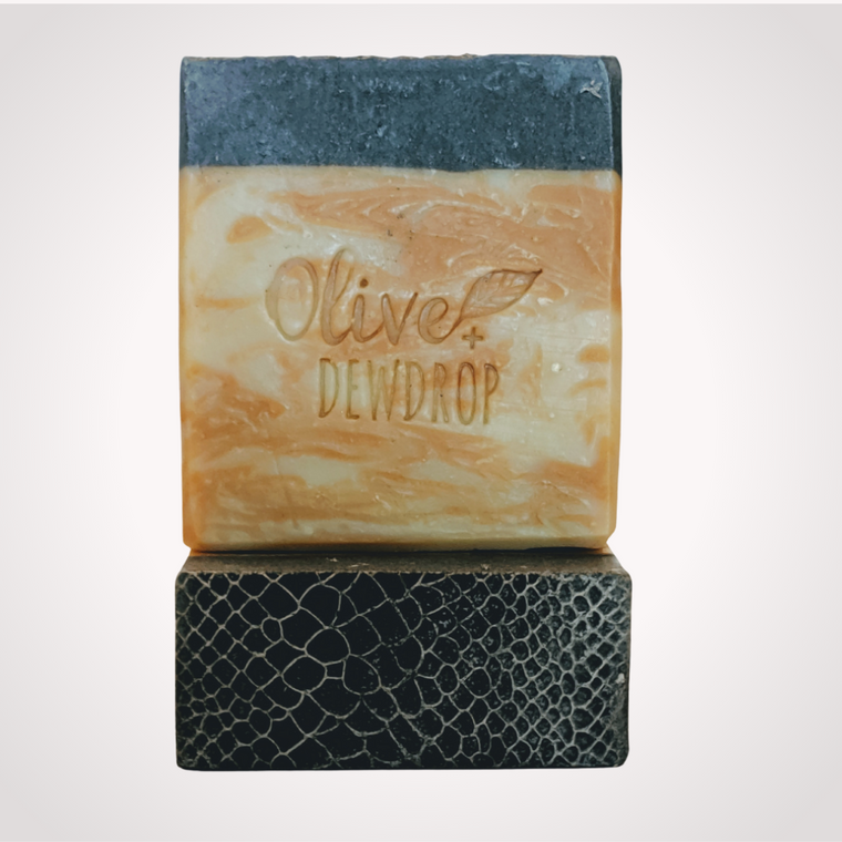 Orange Mint + Anise  Natural Soap Bar with Aloe