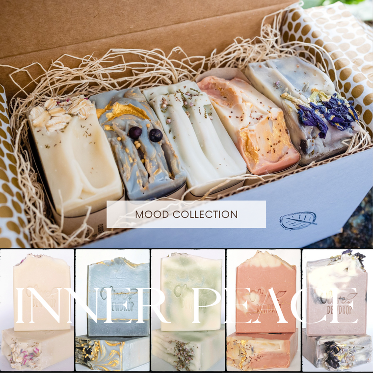 Inner Peace Natural Soap Box by Olive and Dewdrop