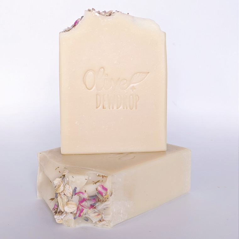 Calm - French Lavender + Oats Cold Process Soap by Olive and Dewdrop