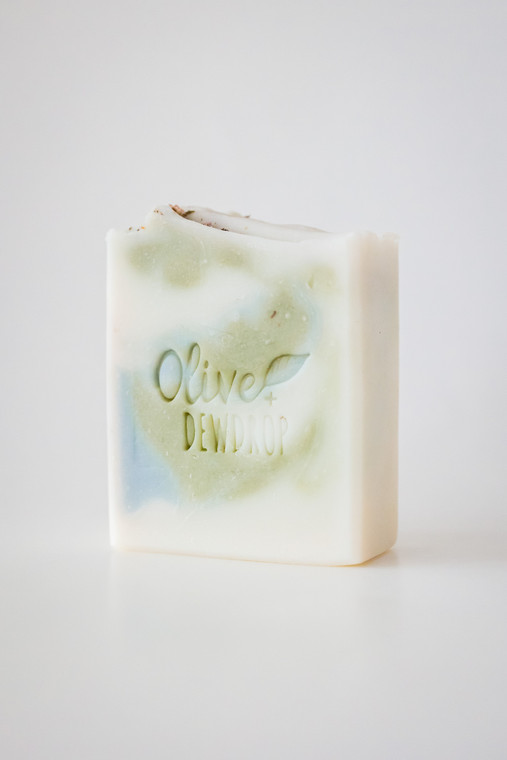 REFRESH - Rosemary Mint Natural Soap with Aloe by Olive and Dewdrop