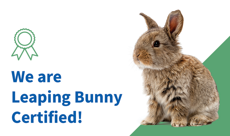 Olive and Dewdrop Soap Co. is Leaping Bunny Certified!