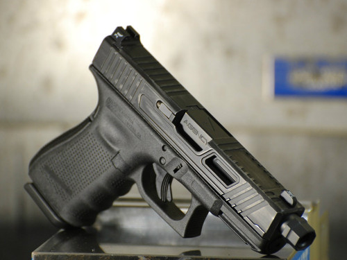 Please note this picture is of a Glock 19 Scout Cut. The 43 Scout Cut will be similar but proportionally smaller. Picture coming soon!