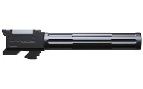 Lantac - Glock 17 Fluted/Non-Threaded Barrel (Black DLC)