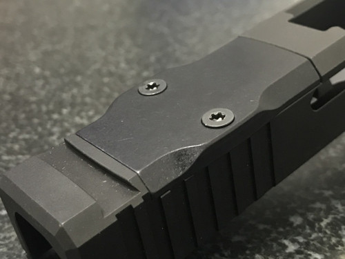 Aluminum RMR Cover Plate (Black Anodized) - BROWNELLS COMPATIBLE ONLY
