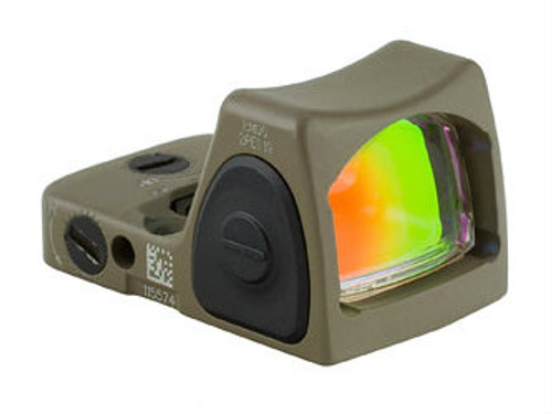 Trijicon RMR Type 2 - Adjustable LED 6.5 MOA Red Dot (FDE)