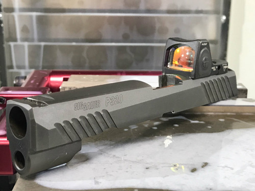 Sig P320 Optic Cut - Trijicon RMR
