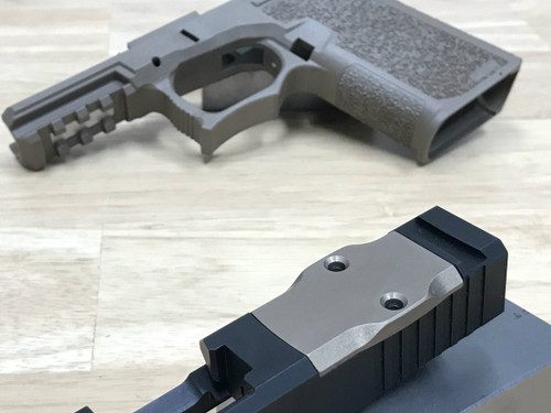 Aluminum RMR Cover Plate (FDE Anodized) - BROWNELLS COMPATIBLE ONLY