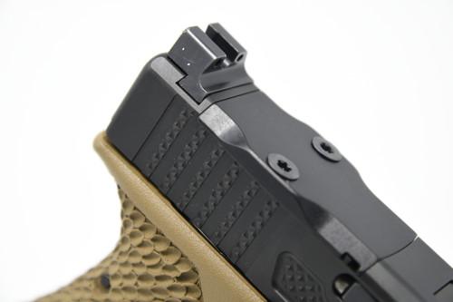 Knurled Rear Serrations (Glock OEM Rear Serrations Only) - Standalone