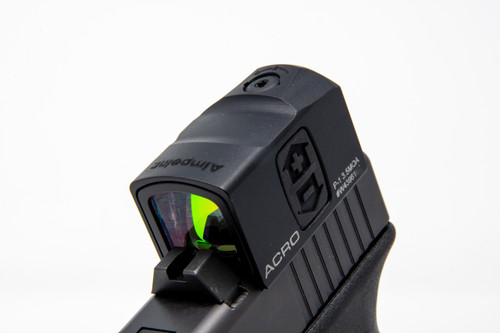 Glock Optic Cut - Aimpoint Acro P1 with Forward Set Rear Dovetail