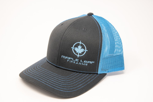 Maple Leaf Hat - Embroided Logo (Blue)