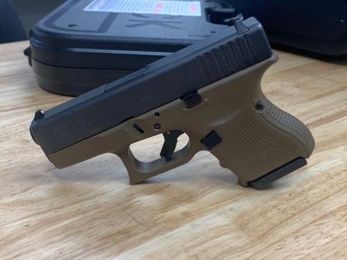 Glock 26 Gen4 - FDE Frame (3 Mags) - Dealer Demo Gun