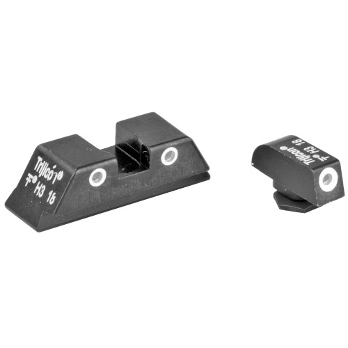 Trijicon Brite & Tough Night Sights - GL01 -  All 9mm/.40/.357 Glocks except 43/43X/48
