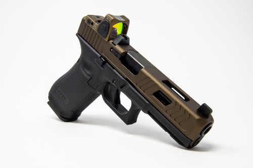 Pictured: Glock 17 Switchback Cut. Glock 21 will be very similar in appearance.