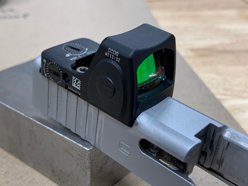 Glock (SLIMLINE MODELS) Optic Cut - Trijicon RMRcc (Setback Configuration)