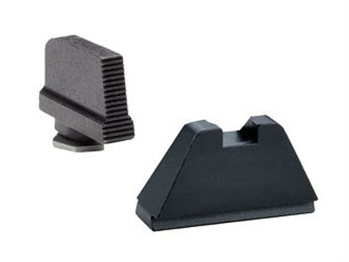 AmeriGlo Black Suppressor Height Sights - GL-429