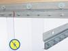 Anti-Static Wall Mount Strip Door Kit