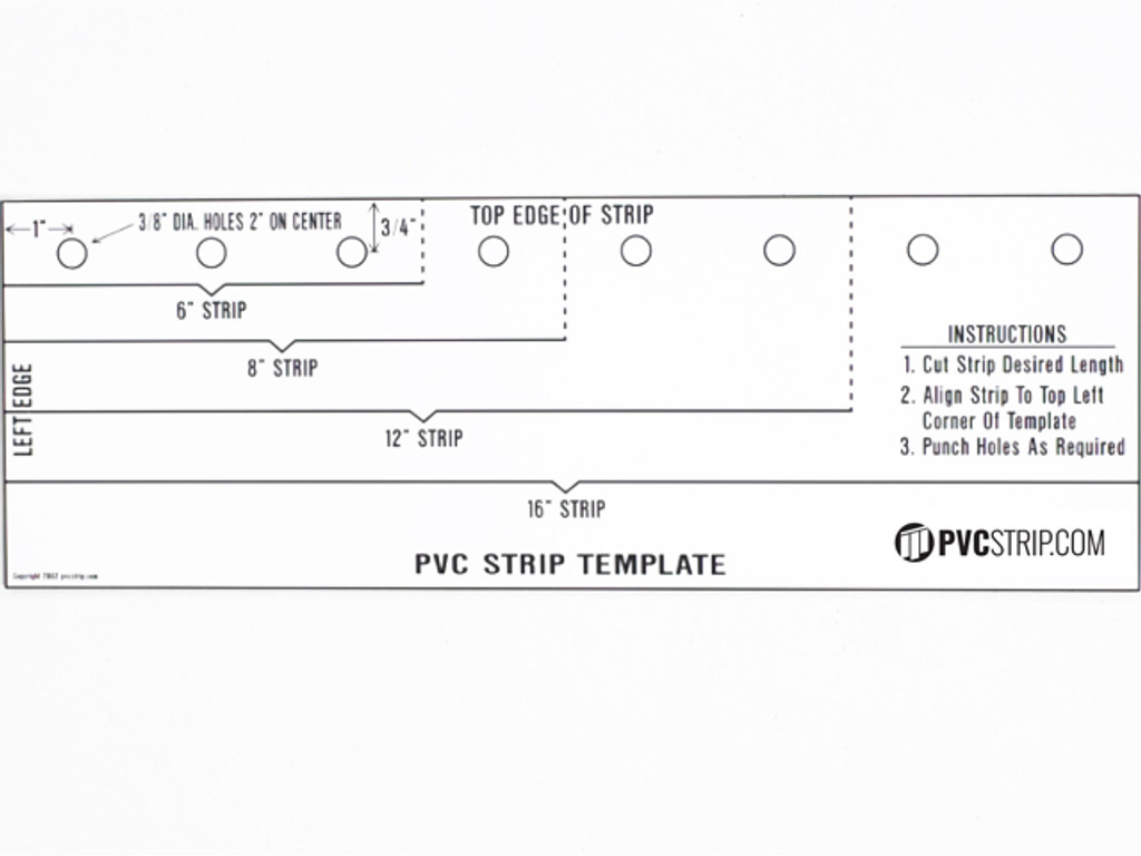 PVC Strip Cutting Tools