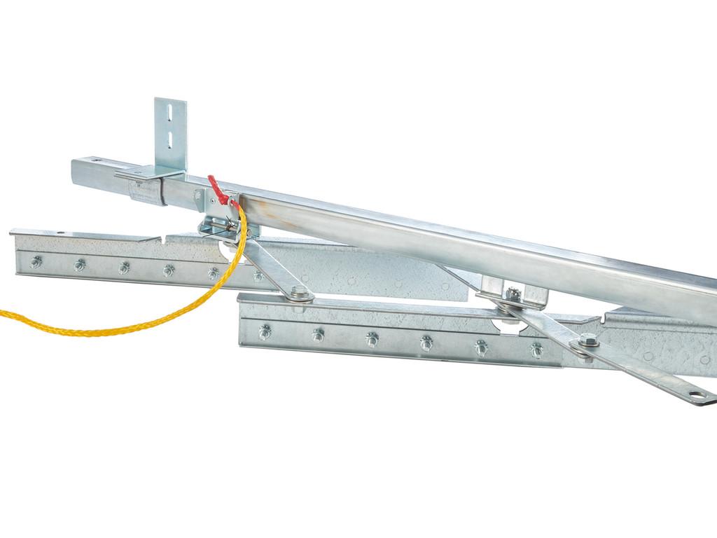 Extra Low Temp Accordion Fold Strip Door Kit