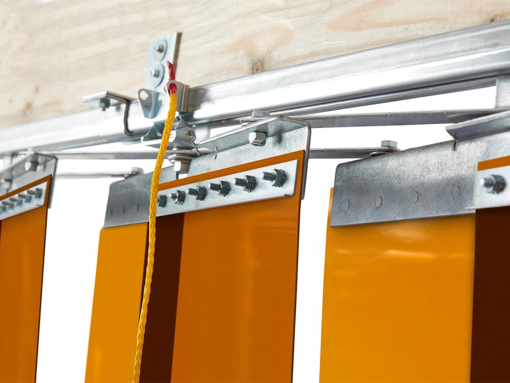 Weld Screen Accordion Fold Strip Door Kit