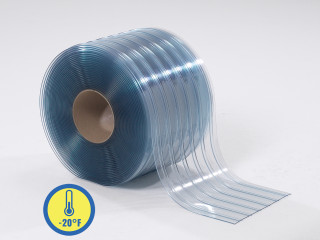Low Temp Ribbed PVC Strip