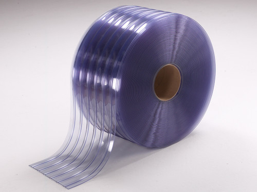 Standard Ribbed PVC Strip Rolls