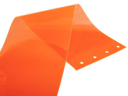 Safety Orange PVC Strip Door Replacement Strips