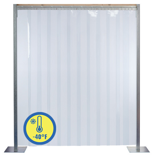 Extra Low Temperature Strip Door Kits