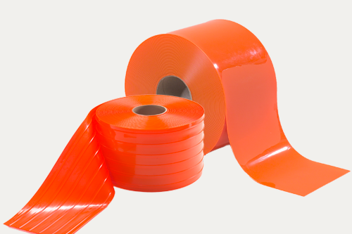 Orange Safety PVC