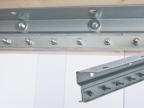 Standard Universal Mount Strip Door Kit