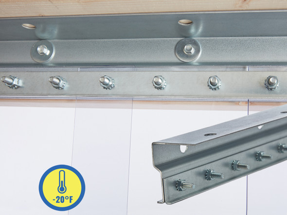 Low Temp Universal Mount Strip Door Kit