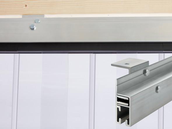 Standard J-Hook Jamb Mount Strip Door Kit