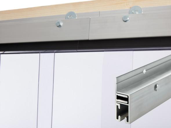 Standard J-Hook Wall Mount Strip Door Kit